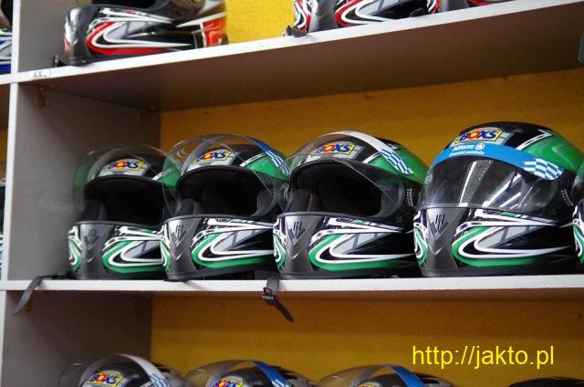 Kaski motocyklowe otwarte Moto-Tour